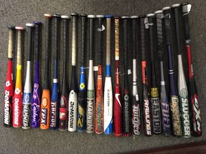 Baseball and softball metal bats - see description for brands, sizes and prices for Sale in Stickney, IL