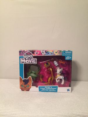 My Little Pony The Movie Rarity & Capper Dapperpaws toy for Sale in Miami, FL