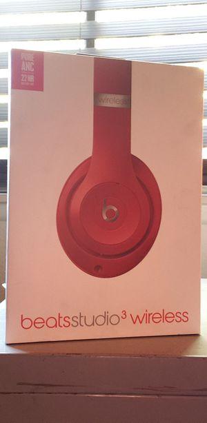 Brand new beats studio 3 wireless headphones red for Sale in Highland, CA