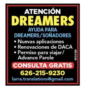 Ayuda Para Dreamers for Sale in Glendora, CA