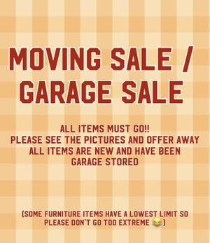 Moving sale items for Sale in Palmdale, CA