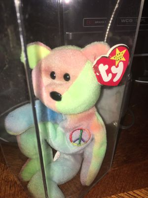 """Beanie Baby """"Peace"""" (1996) for Sale in Ramsey, NJ"""