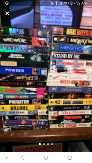Vhs movies with vcr for Sale in Lubbock, TX