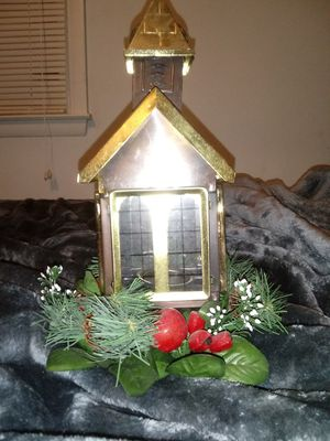 Church with votive candle Centerpiece for Sale in Clayton, NC