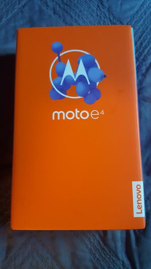 Moto e4. Unlocked cell phone for Sale in ROWLAND HGHTS, CA