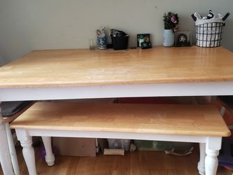 Kitchen Table WBench And 2 Chairs for Sale in Monroeville,  PA