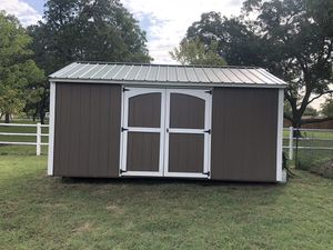 She Shed or Man Cave 10 x 16 x 9. About four years old no damage. Sorry I cannot disassemble or delivered. for Sale in Burleson, TX