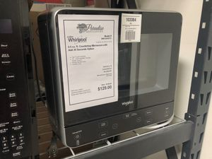 1 YR Warranty! Whirlpool Microwave Black Stand Alone #1958 for Sale in Gilbert, AZ