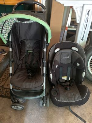 stroller and car seat for Sale in Northville, MI