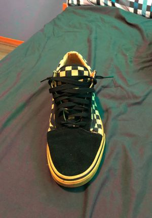 Black yellow vans for Sale in Meriden, CT