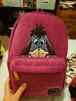 Disney Eeyore Corduroy Loungefly Backpack for Sale in Fresno, CA