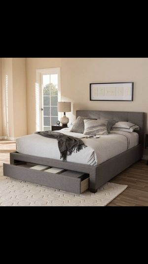 New Queen Frame and Mattress for Sale in Placentia, CA