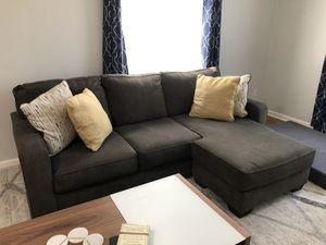 Grey Sectional Couch for Sale in Tulsa, OK