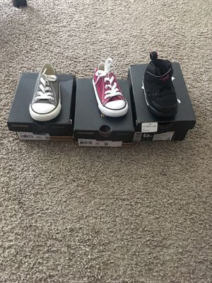 Converses and Jordan 1 flight low for Sale in West Palm Beach, FL