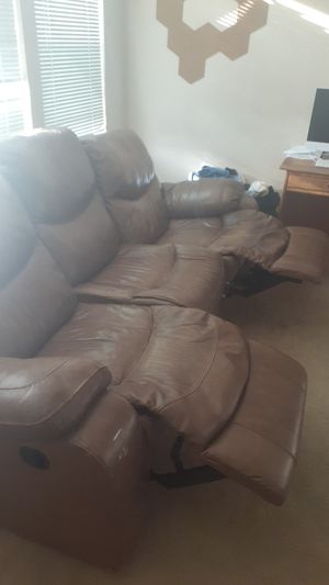 Leather Sofa recliners for Sale in Escondido, CA