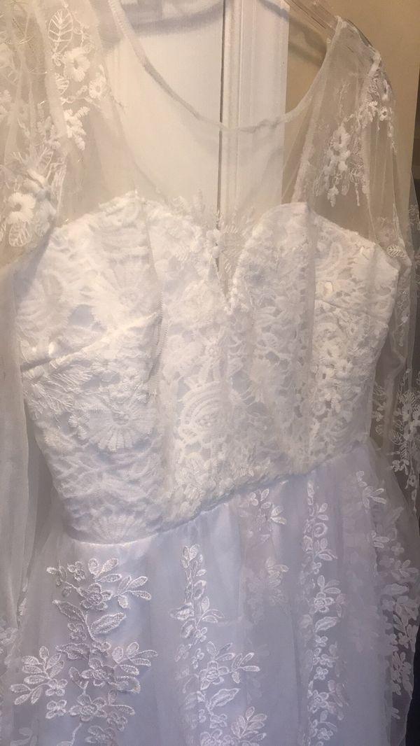 Wedding Dress size Large (16)