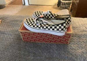BRAND NEW CHECKERED VANS for Sale in Anaheim, CA