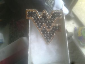 Beautiful west virginia blue and gold pin for Sale in Birch River, WV