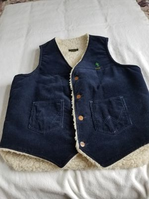 Mens vest wrangler sherpa lined. Size small for Sale in Bellaire, MI