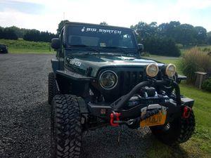 Jeep Wrangler Willy's Ed. 2005 for Sale in Fredericksburg, VA