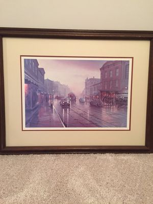 "Signed H.T. Becker ""Evening in Georgetown"" for Sale in Fairfax, VA"
