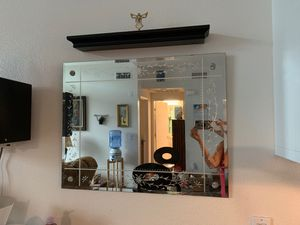 Wall Mirror Etched for Sale in San Diego, CA