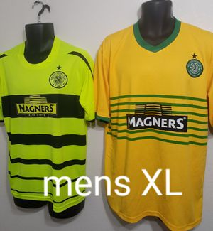 Celtic FC mens XL soccer jerseys 2 for $10 for Sale in Las Vegas, NV