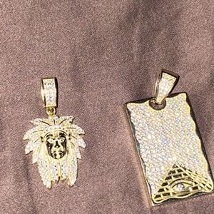Plated Gold Pendants for Sale in Powder Springs, GA