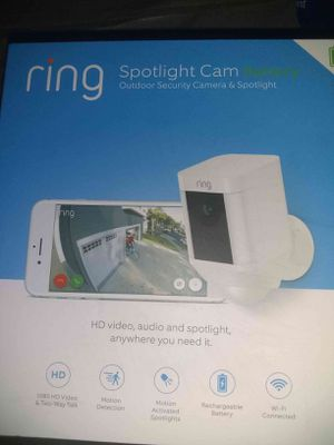 Ring spotlight cam battery for Sale in Riverside, CA
