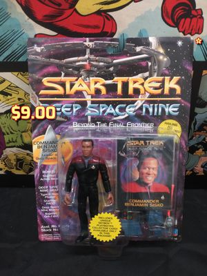 "Star Trek: DS9 Commander Benjamin Sisko 4.5"" Action Figure 1993 Playmates for Sale in Oakland, CA"