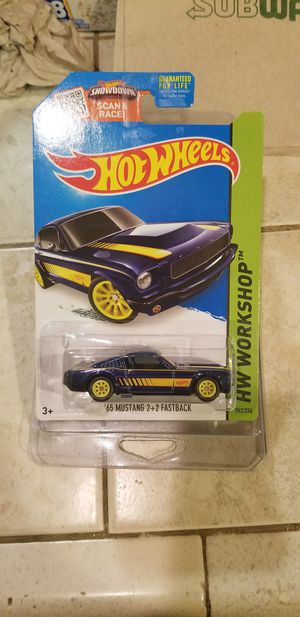 Hot wheels Ford mustang super treasure for Sale in Veneta, OR
