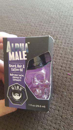 GIBS Alpha Male Hair and Beard Oil for Sale in Scottsdale, AZ