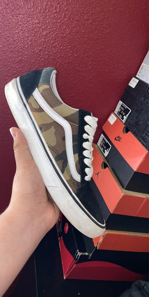 Vans camo for Sale in Hayward, CA