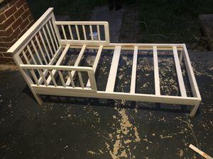 White toddler bed frame for Sale in Phenix City, AL