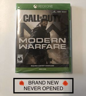 Call of Duty Modern Warfare for Xbox One for Sale in Oklahoma City, OK