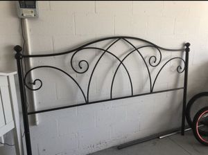 Free Espresso King Headboard for Sale in Winter Garden, FL
