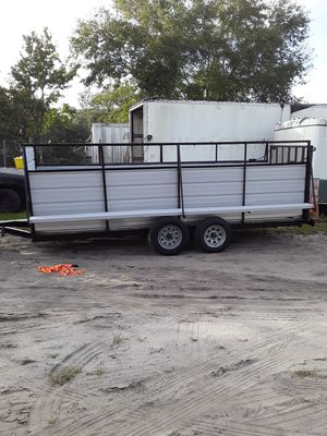 Utility trailer 16 x 5.5 for Sale in Kissimmee, FL