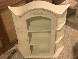 Wall curio cabinet shelf for Sale in Doylestown, PA