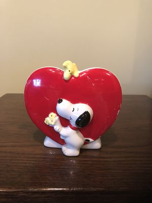 Vintage Snoopy Heart Planter for Sale in Centreville, VA