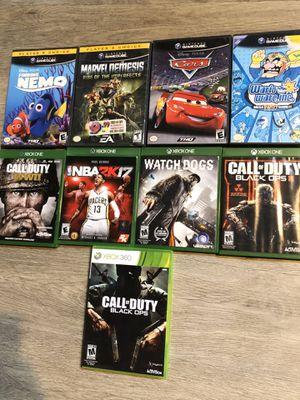 Xbox one/Xbox 360/GameCube games for Sale in Philadelphia, PA