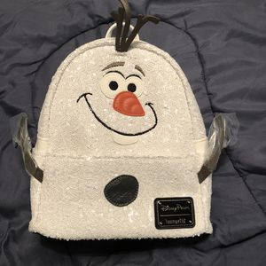 Olaf lounge fly back pack for Sale in Downey, CA