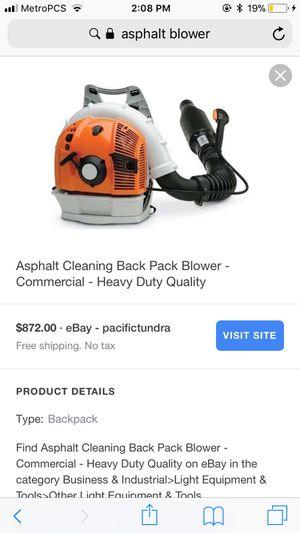 Asphalt leaf blower for Sale in Dallas, TX