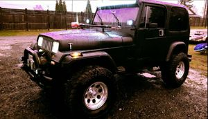 1990 Jeep Wrangler YJ! Sell/Trade for Sale in Roy, WA