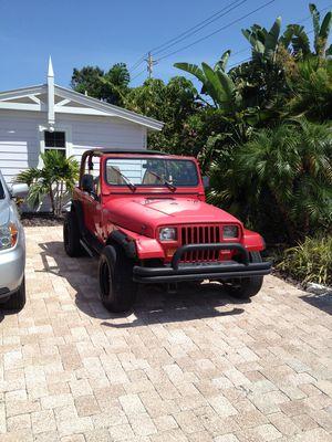 94 Jeep wrangler yj for Sale in St. Petersburg, FL