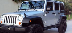 Fullyy a/c 07 Suv Jeep V6 4X4 $1800 Wrangler Unlimited for Sale in Carrollton, TX