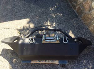 Steel Jeep Bumper (WINCH IS SOLD) for Sale in Yonkers, NY
