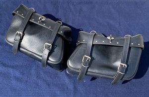 Leather Slant Saddlebags for Sale in West Carson, CA