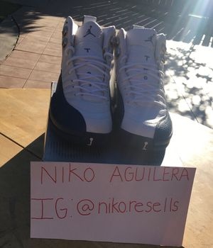 Jordan 12 French Blue Size 9.5 for Sale in Stockton, CA