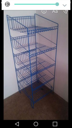 metal shelves for Sale in Ailey, GA