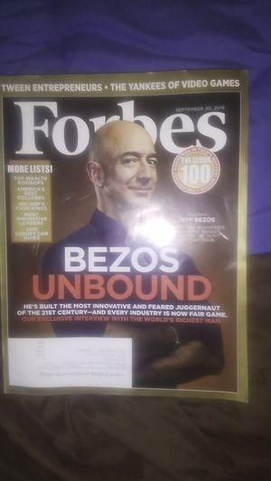 BILLIONAIRE Amazon founder Jeff Bezos RARE magazine for Sale in Baltimore, MD